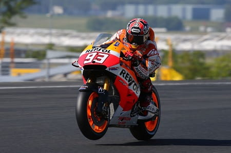 Marquez has won the first five races!