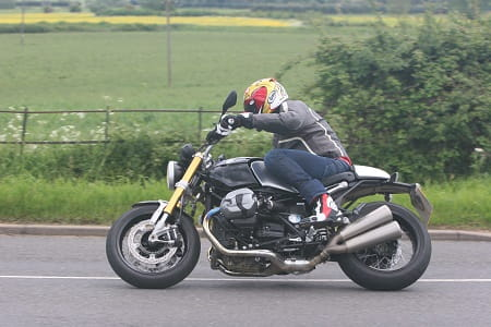 BMW's RnineT is way more than a BMW R1200R in a frock. It's stylish, chuckable, looks great and sounds amazing. Want.
