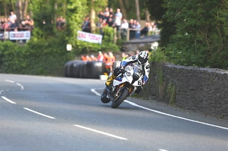 Michael Dunlop is near lap record pace