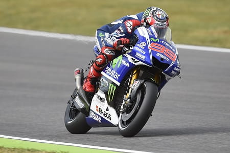 Lorenzo put in his best performance of the season