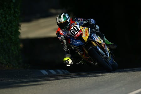Hickman impressed on his TT debut