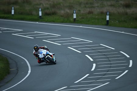 Anstey was never far from Johnson's tail