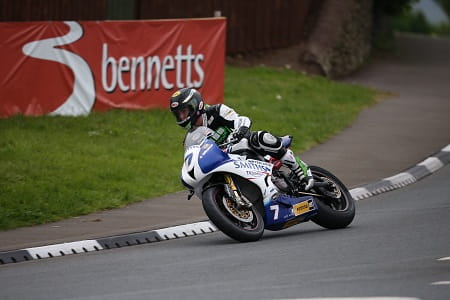 Johnson wins the first Supersport race
