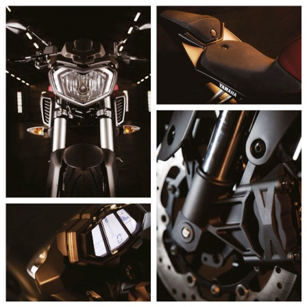 Yamaha MT 125's interesting bits