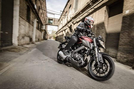 Yamaha's MT-125 is a great town bike, but it's at home on open roads too.