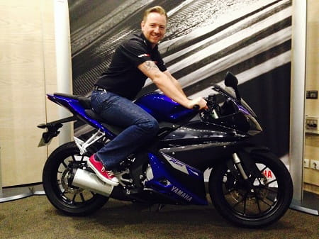 Bike Social's Michael Mann on the new Yamaha YZF-R125