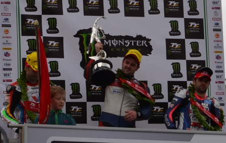 Dunlop took his tenth TT victory