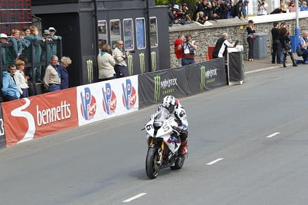 Dunlop impressed on the BMW