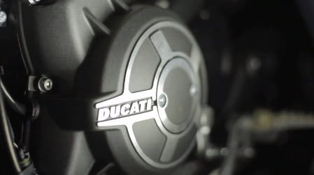 Clutch cover of the 2015 Ducati model