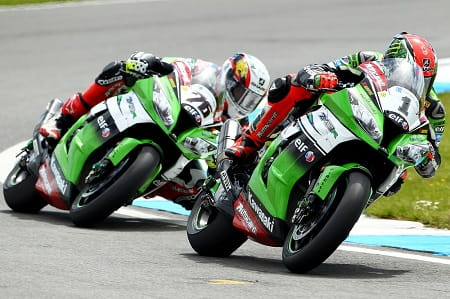 Sykes says Baz got a bit close at Donington