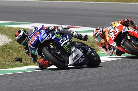 Lorenzo pushed hard at Mugello