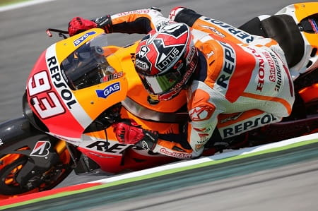 Marquez' seventh win wasn't easy
