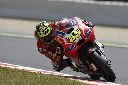 Crutchlow is struggling with the Ducati