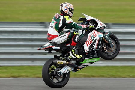 Byrne dominated at Snetterton