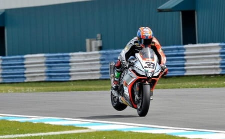 Melandri got the double in Sepang
