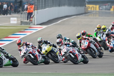 There has been great racing in the Supersport class