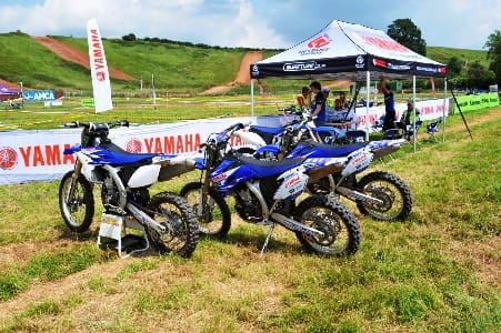 Yamaha's fleet ready for off-roading
