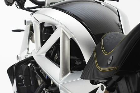 Frame takes cues from the Ariel Atom car/