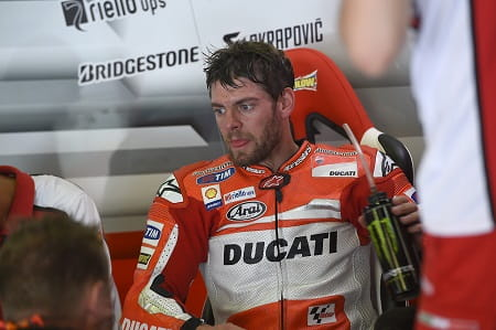 Crutchlow started from pole at Assen last year