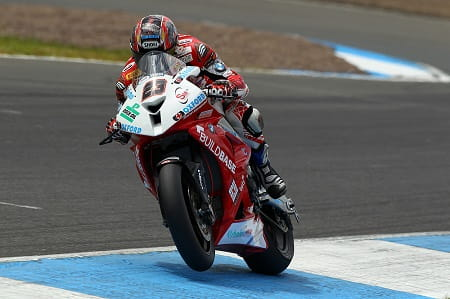 Kiyonari dominated the first race