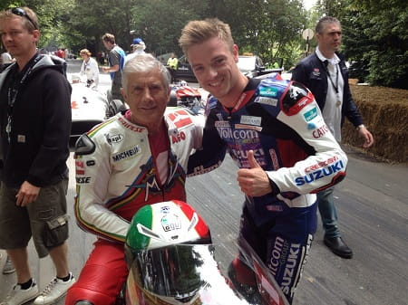 Lowes meets Agostini, or should that be Agostini meets Alex Lowes?