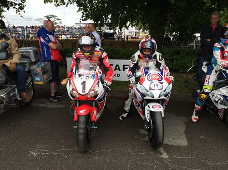 McGuinness and Haslam play WSB vs TT racers.