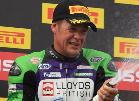 Walker took his fiftieth podium at Knockhill