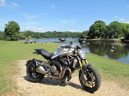 Monster 1200S does Beaulieu. The Monster proved it's no tourer, but is way more practical than we first gave it credit for.