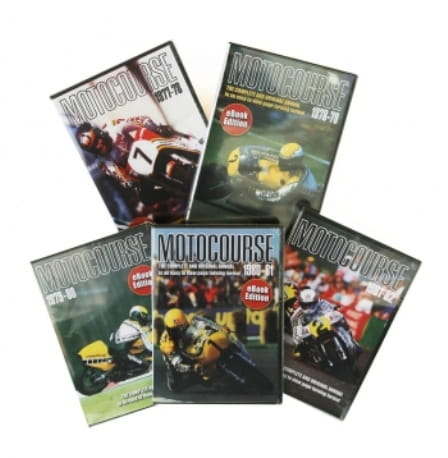 Motocourse on CD, not quite the same