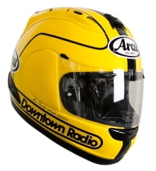 Joey Dunlop replica lid by Arai