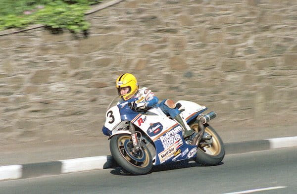 Joey Dunlop at Union Mills in 1985.