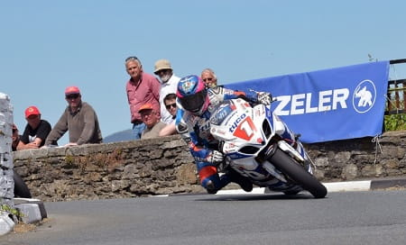 Guy Martin pushed Harrison all week