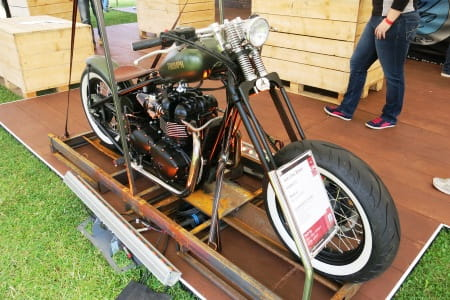 Beautiful Jack Lilley Bobber, £16k though