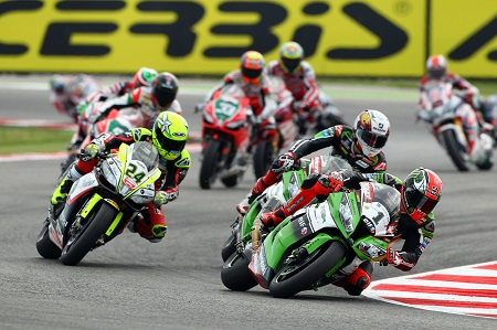 Tom Sykes leads the WSBK standings at half-way point