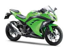 Kawasaki Ninja300 - the CBR300R's nearest competitor