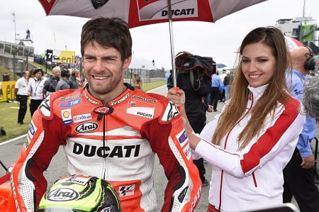 Crutchlow will remain with Ducati for 2015