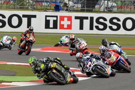 Crutchlow leads the way through Vale in 2012