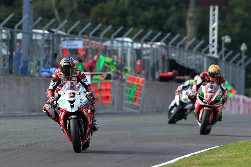 Kiyonari beat Brookes and Byrne in two of the three races