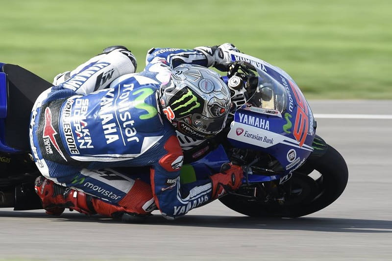 Lorenzo bagged second for the first time this year