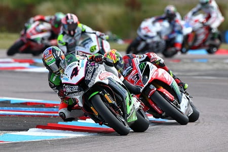 Linfoot leads the pack at Thruxton