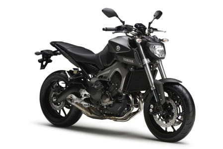 The original Yamaha MT-09