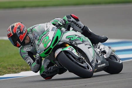 Camier impresses on MotoGP debut