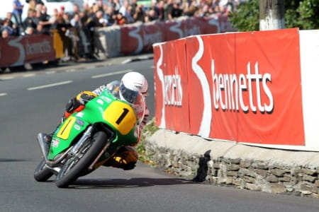 Linsdell won last year's 500cc race on a Paton