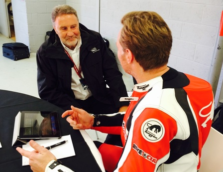 Richard Philips, Silverstone MD chats to Bike Social's Michael Mann