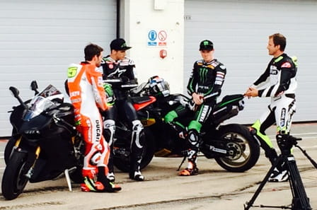 Will Crutchlow, Redding, Smith and Hodgson be chatting at Silverstone in 2015?