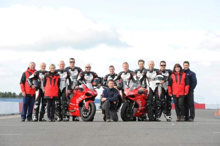 Your complete California Superbike School team