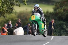 McGuinness aboard his #1 Paton