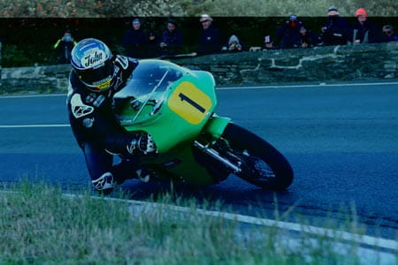 McGuinness forced to retire from 500cc Classic TT race