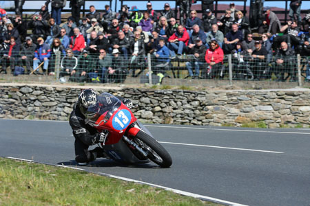 Lee Johnston wins the 350cc Classic TT