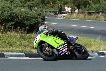 Hillier scoops second in the F1 Classic TT